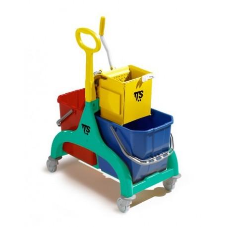 Carro Nick 30 compacto y elegante con ruedas