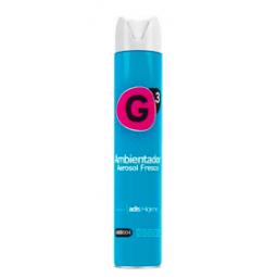 G3 Ambientador aerosol fresco 12x750 ml
