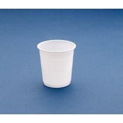 Vaso de plástico de 100 cc blanco 3600 ud
