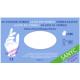 Guante de nitrilo sin polvo sensitive blanco Sanyc 100 ud