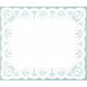 Blonda de papel calada Lito 40x50 cm