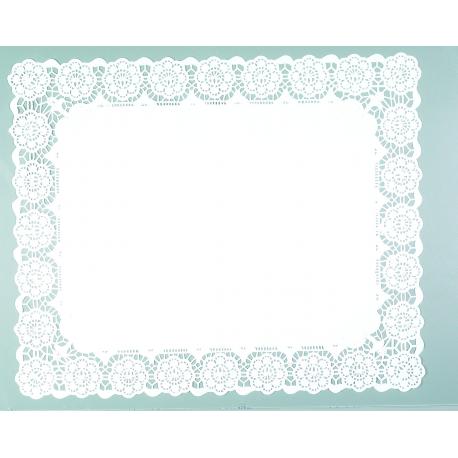 Blonda de papel calada Lito 45x55 cm