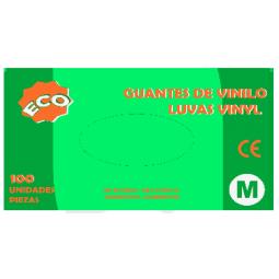 Guante de vinilo con polvo ECO 100 ud