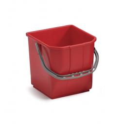 Cubo TTS 25 Litros Rojo