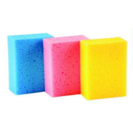 Esponja de baño rectangular