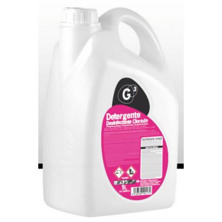G3 detergente desinfectante clorado 5L