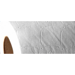 Higiénico Tisoft Basic de doble capa estandar gofrado 108 ud