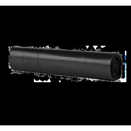 Bolsa de basura Fortplas 90x115 cm fuerte negro 250 ud