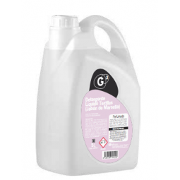 G3 Detergente Líquido Textiles (Jabón de Marsella) 4x5 litros