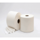 Bobina industrial de papel reciclado de dos capas en una y acabado gofrado