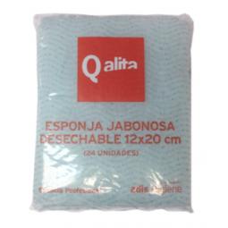 Esponja jabonosa de napa Qalita 2880 Ud