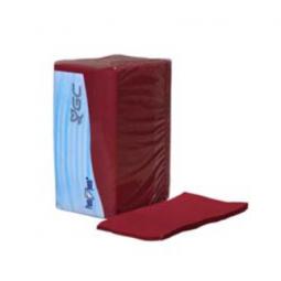 Servilleta de papel y doble capa 30x40 cm color burdeos