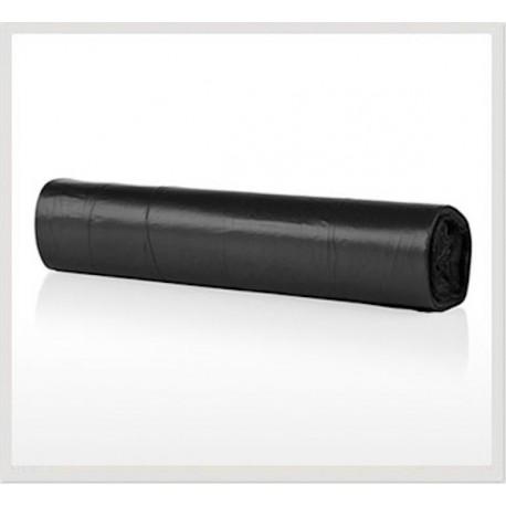 Bolsa para basura negra Fortplas 85x105 cm