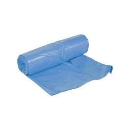 Bolsa para basura Fortplas azul 85x105 cm 400 ud