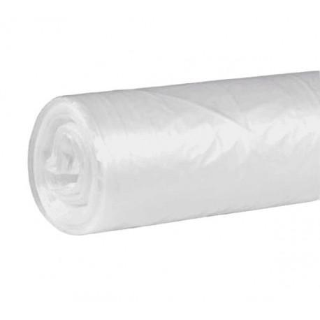 Bolsa para basura transparente Fortplas 52x60cm