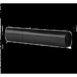 Bolsa de basura Fortplas 115x150 cm fuerte negro 150 ud