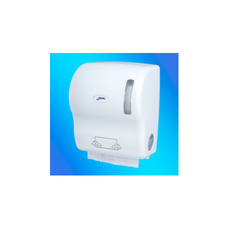 Dispensador autocortante de bobinas secamanos ABS Blanco Adis