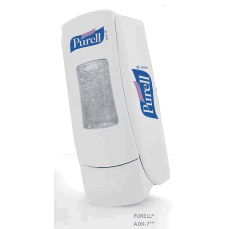 Dispensador de jabón blanco ADX7 700 ml