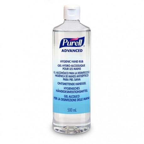 Purell Advance gel hidro-alcohólico flip top 12x500 ml
