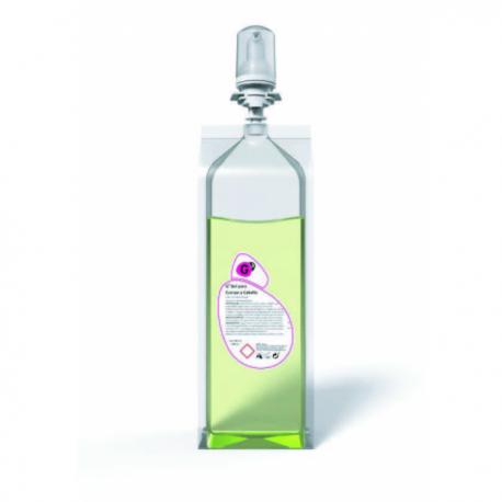 G3 gel de cuerpo/cabello manual 1L 6ud