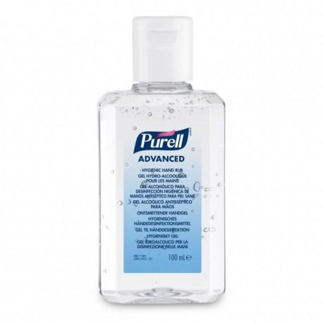 Purell Advance gel hidro-alcohólico flip top 24x100 ml