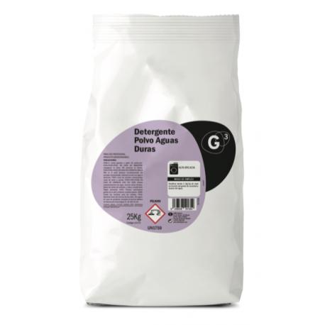 G3 detergente en Polvo para Aguas Duras 25 Kg