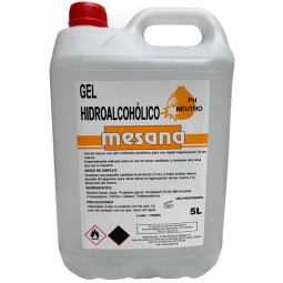 Mesana Gel hidro-alcohólico 5L