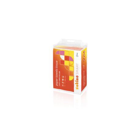 Toalla de papel desechable Satino Smart de doble capa y plegado V 24x23 cm 4000ud