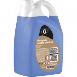 Detergente alcalino industrial 4x5 L