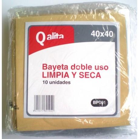GAMUZA CRISTALES DOBLADA 35X40