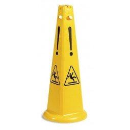 Señal de Seguridad Piramidal Suelo Mojado TTS