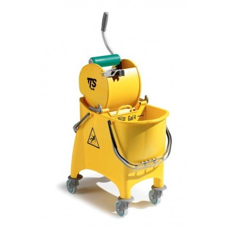 Carro Witty amarillo 30 l