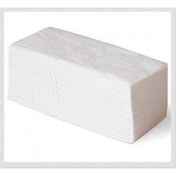 Toalla de papel desechable de doble capa, plegado en V 3920 unidades