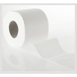 Higiénico doméstico Tisoft de doble capa gofrado y Ø45 96ud