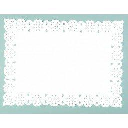 Blonda de papel calada Lito de 45x55 cm 100ud