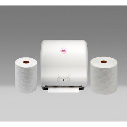 Bobina de papel autocortante Tisoft de doble capa gofrada 160 m 6 ud