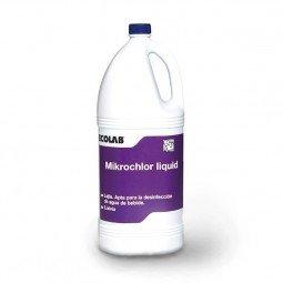 Mikrochlor Liquid lejía para la desinfección del agua de bebida 4x4 L