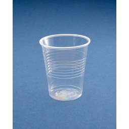 Vaso desechable de plástico transparente de 220 cc 3000ud
