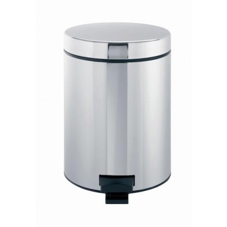 Cubo con pedal en acero inox Brabantia