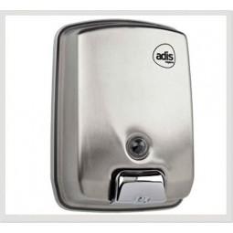 Dosificador de jabón en inox satinado de Adis