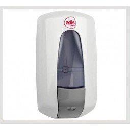 Dosificador de jabón de Adis en color blanco de 1 litro