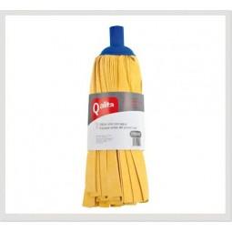 Fregona profesional de tiras amarilla Qalita 24ud