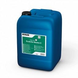 Ecobrite Neutra-3 de Ecolab Suavizante/Neutralizante 20 Kg