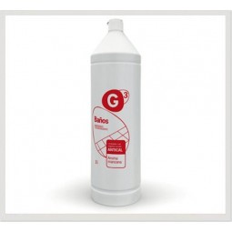G3 Baños limpiador higienizante y desincrustante 12x1 L
