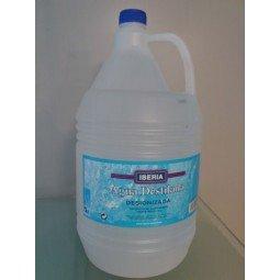 Agua destilada 3x5 L
