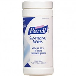 Purell Sanitizing Wipes, toallitas desinfectantes